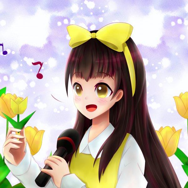 郁金花の少女 - 杜美心
