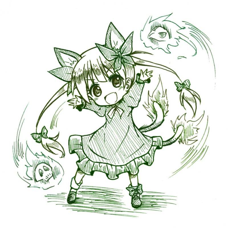 【東方】 火焔貓 燐