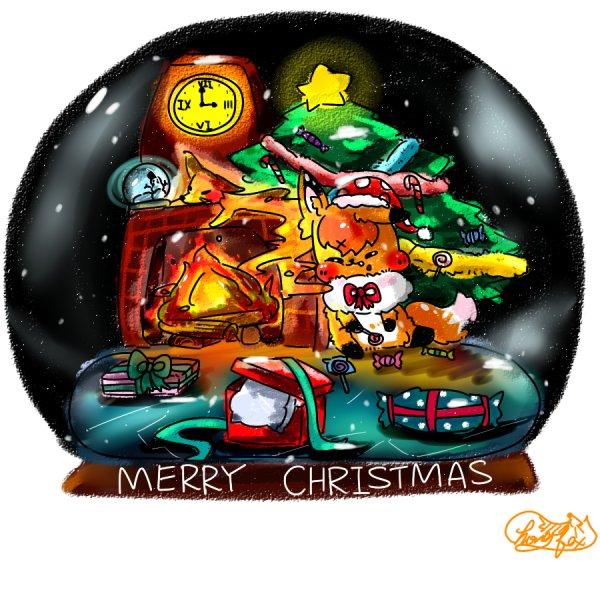 以前的聖誕圖