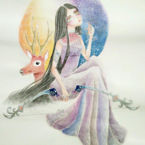月與狩獵—黛安娜